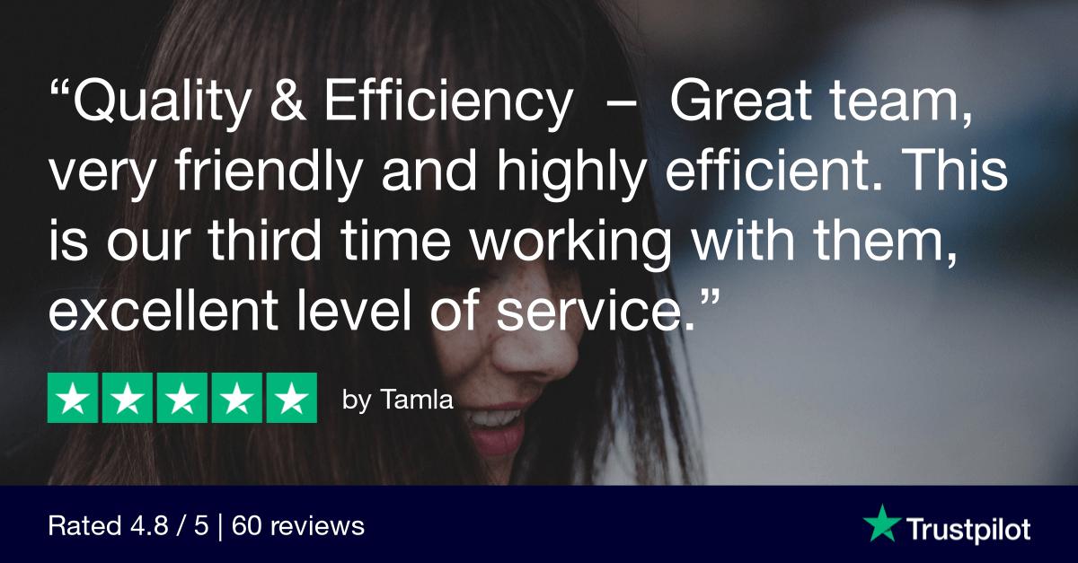 Trustpilot Review - Tamla